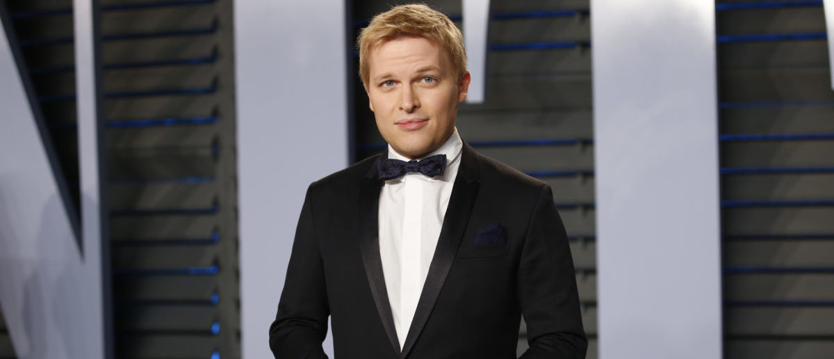 2018 Vanity Fair Oscar Party – Arrivals – Beverly Hills, California, U.S., 04/03/2018 – Journalist Ronan Farrow. REUTERS/Danny Moloshok | NBC, MSNBC Snub Ronan Farrow