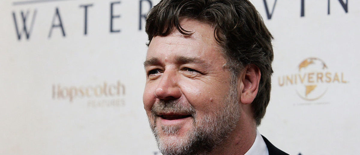 "SYDNEY, AUSTRALIA - DECEMBER 02: Russell Crowe arrives at the World Premier of ""The Water Diviner"" at the State Theatre on December 2, 2014 in Sydney, Australia. (Photo by Lisa Maree Williams/Getty Images)"