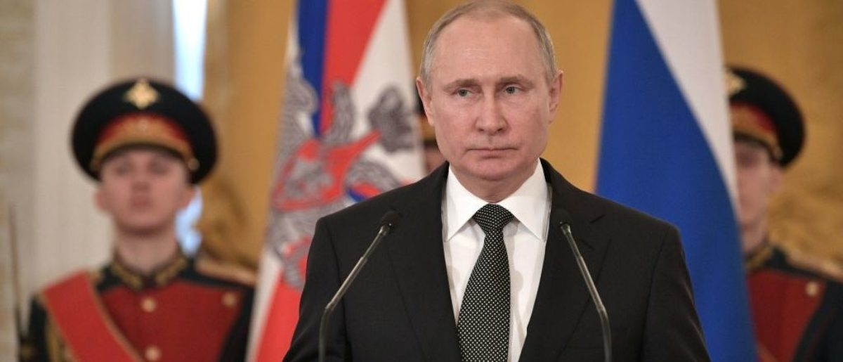 Here is a photo of Russian President Vladimir Putin. (ALEXEY NIKOLSKY/AFP/Getty Images)