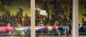 Black Lives Matter Protesters Block Thousands Of Fans From Attending NBA Game