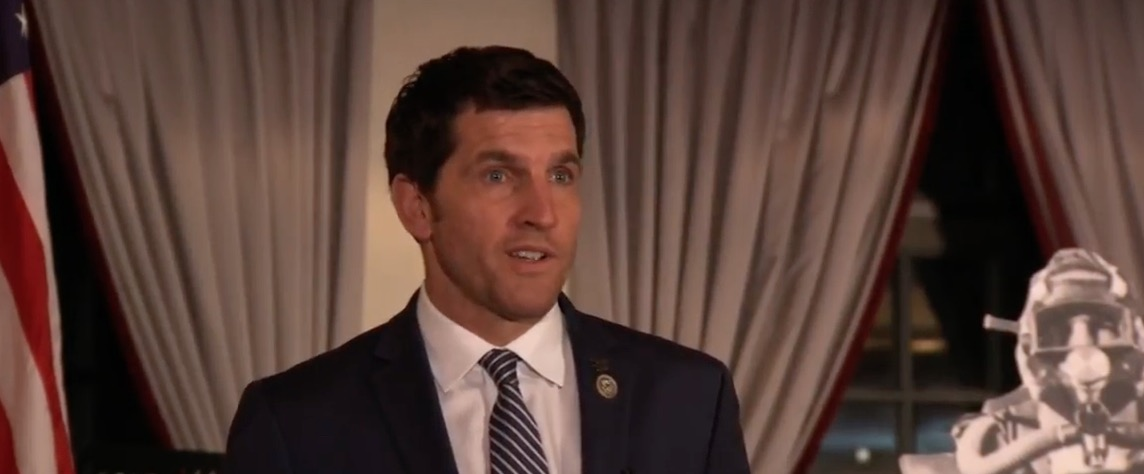 Virginia Rep. Scott Taylor (YouTube screen capture/OSS Society)   Virginia Man Threatens Rep. Taylor