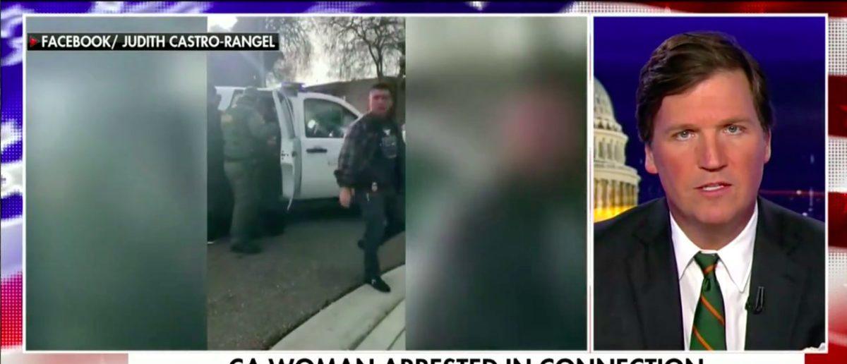 Screen Shot Tucker Carlson (Fox News: March 13, 2018)