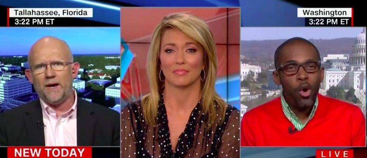Screen Shot Brooke Baldwin, Rick Wilson, Paris Dennard (CNN: March 16, 2018)