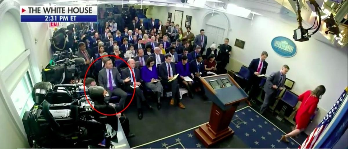 Acosta Shouts At Sarah Sanders Post-Briefing | The Daily ...