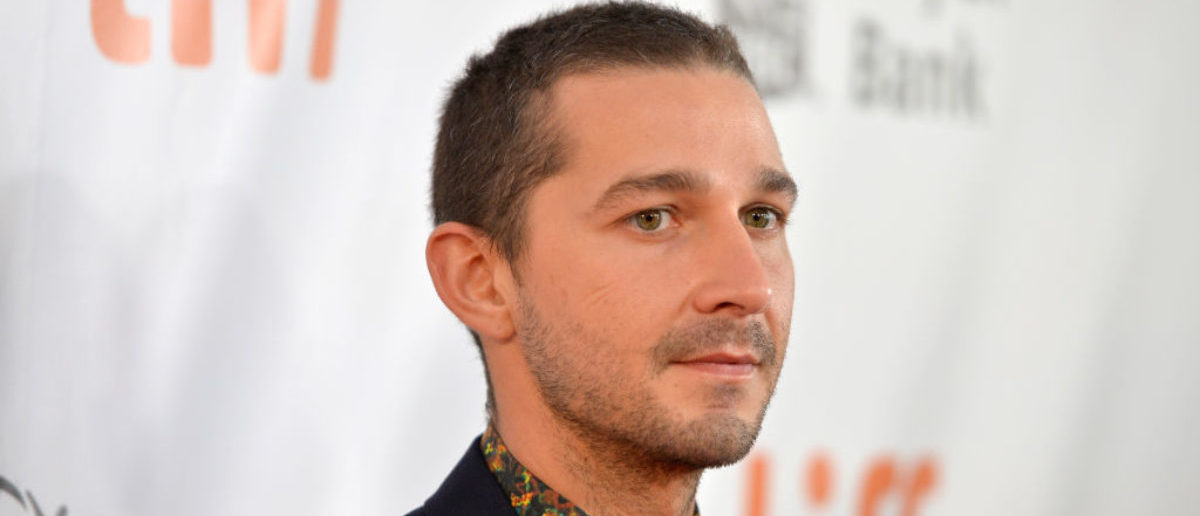 TORONTO, ON - SEPTEMBER 07:  Shia LaBeouf attends the 'Borg/McEnroe' premiere during the 2017 Toronto International Film Festival at Roy Thomson Hall on September 7, 2017 in Toronto, Canada.  (Photo by Alberto E. Rodriguez/Getty Images)