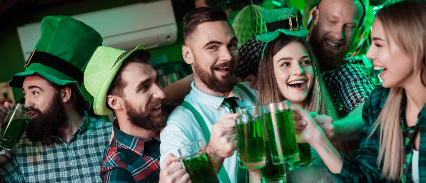 St Patrick's Day Celebrations (Shutterstock/ VGstockstudio)