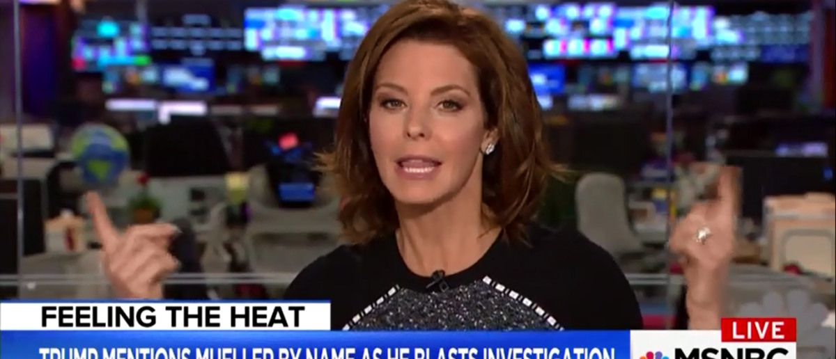 Stephanie Ruhle Accuses Sean Hannity Of Dark Agenda After Mocking His Appearance On 'Fox & Friends' 3-19-18 | (Screenshot/MSNBC)