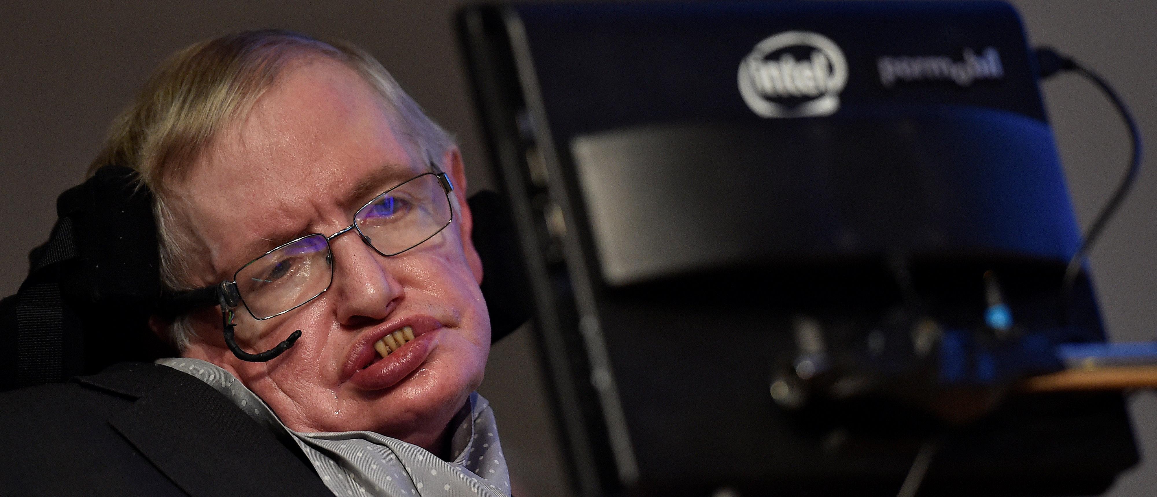 Stephen Hawking Kirja