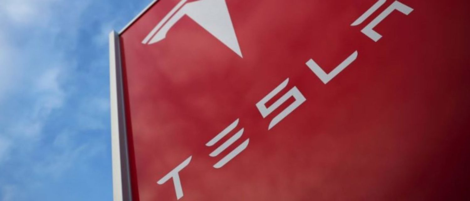FILE PHOTO: A Tesla dealership is seen in West Drayton, just outside London, Britain, February 7, 2018. REUTERS/Hannah McKay/File Photo
