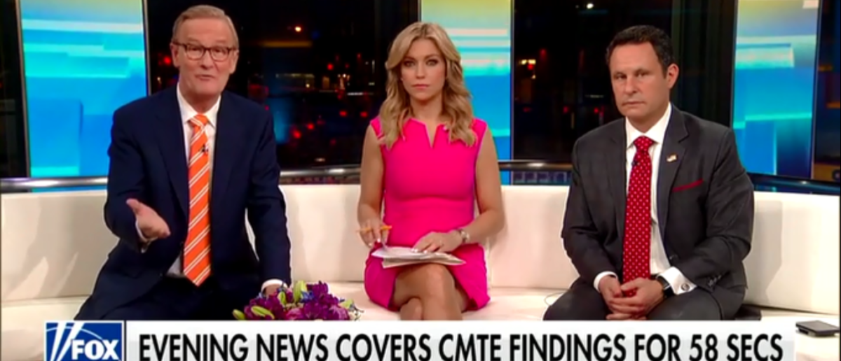 The Legacy Media Did Its Best To Ignore The House Intel Reports Of No Collusion, So 'Fox & Friends' Rubbed Their Faces In It 3-13-18 (Screenshot/Fox News)