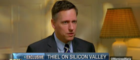 Peter Thiel Says Silicon Valley A 'Totalitarian Place' — Slams 'Political Correctness'