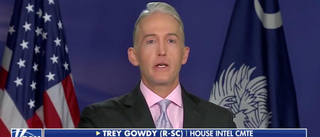 Trey Gowdy Fox News screenshot