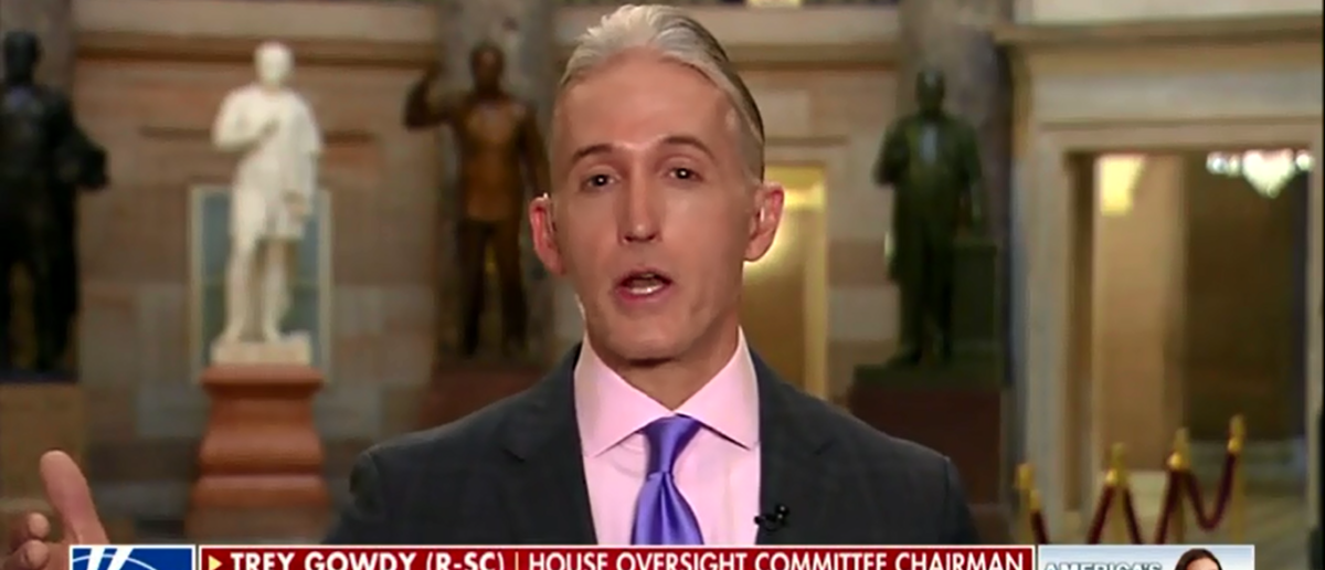 Trey Gowdy 'Troubled' By Abuses Within FBI And Wants Independent Counsel To Investigate - America's Newsroom 3-7-18 (Screenshot/Fox News)