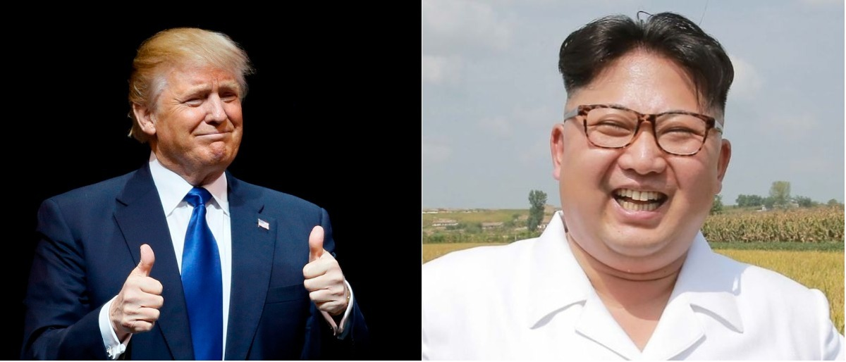 Trump and Kim Reuters/Rick Wilking, AFP/Getty Images/KCNA