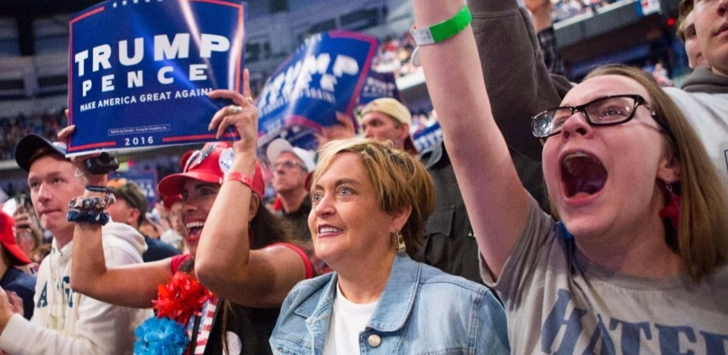 Trump supporters Getty Images/Jessica Kourkounis
