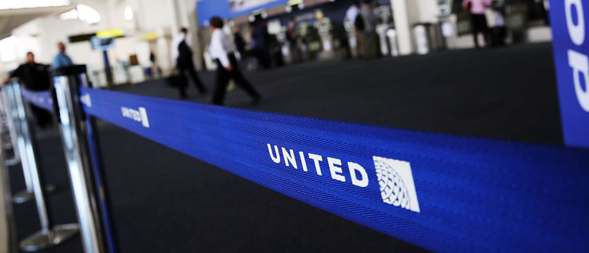 NEWARK, NJ - JULY 08: The United Airlines terminal is viewed at Newark Liberty Airport on July 8, 2015 in Newark, New Jersey. A computer system glitch caused thousands of United Airlines flights throughout major airports to be grounded Wednesday morning. The issue was resolved by late morning with some ripple delays still being felt at airports throughout the country. (Photo by Spencer Platt/Getty Images)