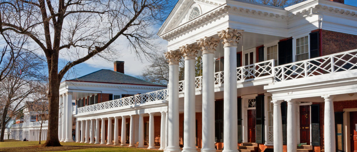 Pictured is the Academical Village at the University of Virginia. (Shutterstock/Melinda Fawver)