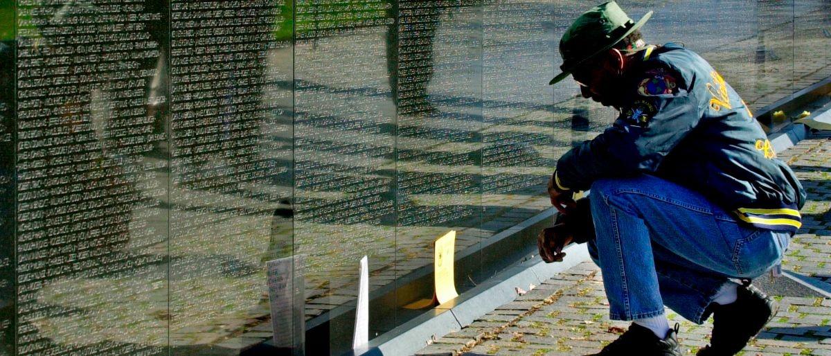 Vietnam War Memorial Getty Images/Mike Theiler