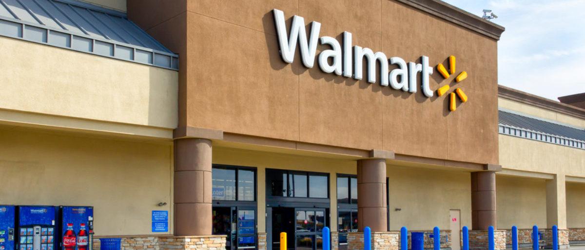 Pictured is a Walmart store. (Shutterstock/Ken Wolter) | Chicago Students Trash Walmart