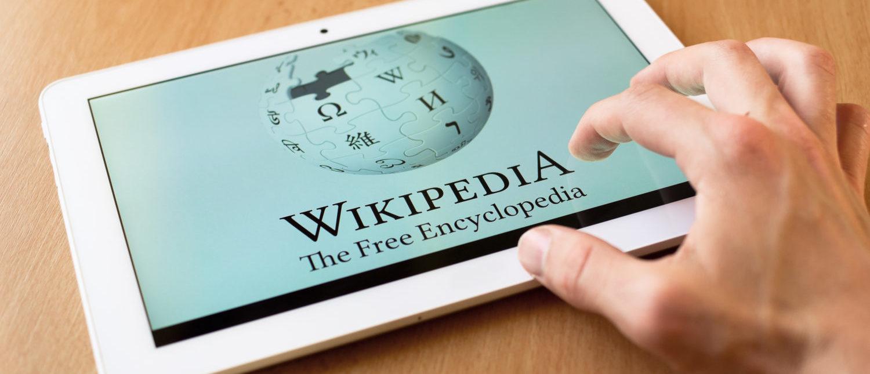 A computer user accessing Wikipedia. [Shutterstock]