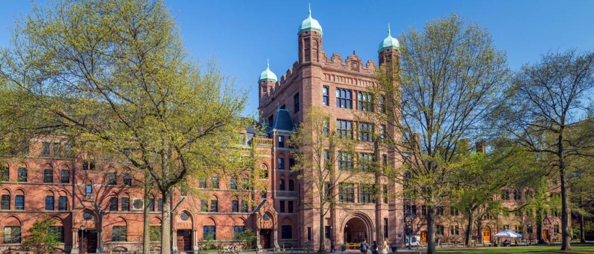 Featured is a building on Yale's campus in New Haven, CT. (Shutterstock/f11photo)