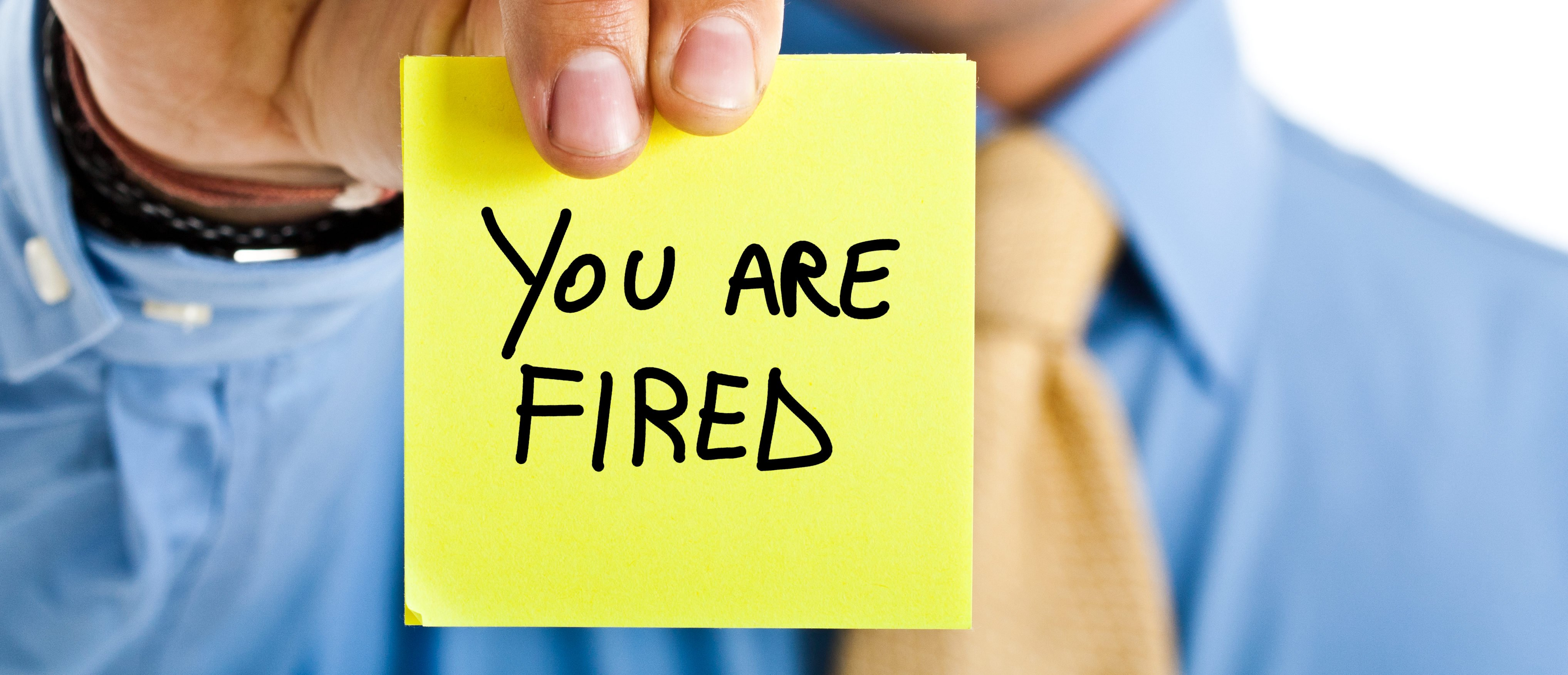 You Are Fired Sticky (Shutterstock/Minerva Studio) | Court Rules In Favor Fired Trans Worker