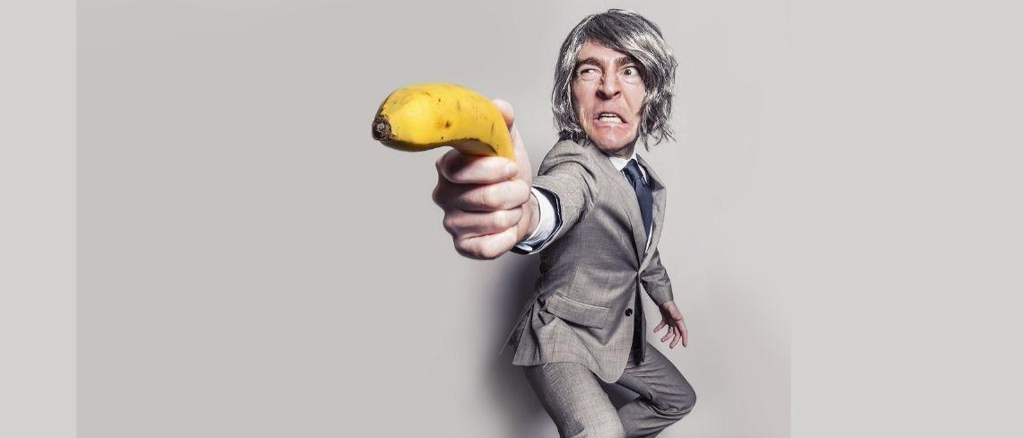 banana gun Creative Commons via Pixabay/RyanMcGuire