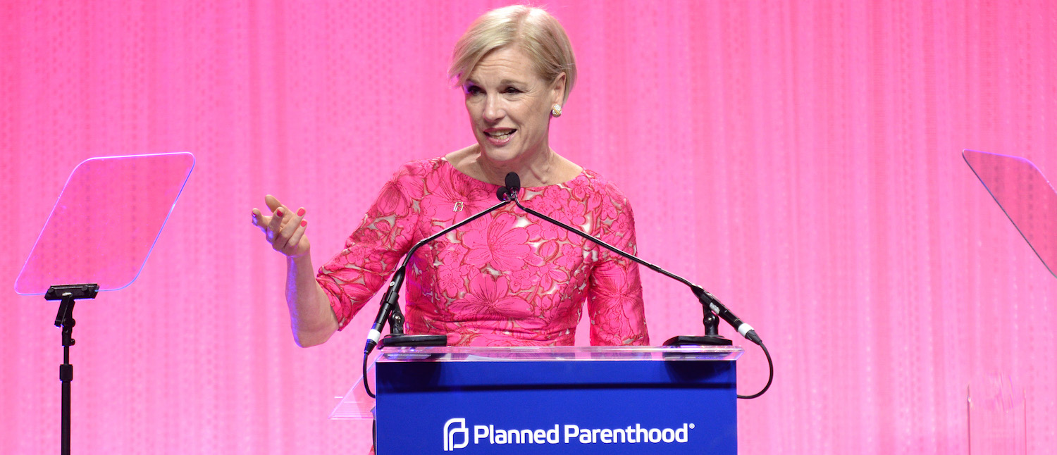 Cecile Richards speaks onstage at the Planned Parenthood 100th Anniversary Gala at Pier 36 on May 2, 2017 in New York City. (Photo: Andrew Toth/Getty Images)