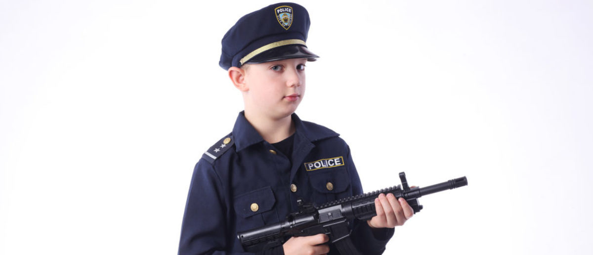 A California 14-year-old is facing felony charges after he repeatedly dressed up as a cop and attempted to make traffic stops, eventually even trying to respond to a domestic violence call.(Shutterstock/Forma82)