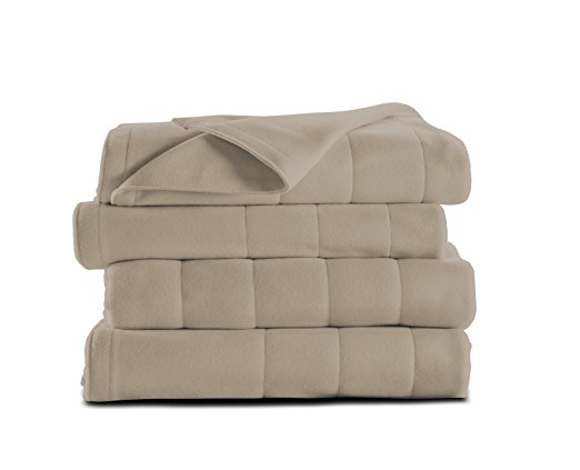 Normally $105, this heated blanket is 47 percent off today (Photo via Amazon)
