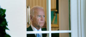 Biden Looks At Himself In Mirrors To Decide If He Wants To Run For President