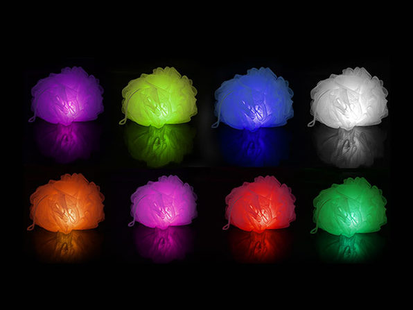 Normally $20, this light-up loofah is 25 percent off