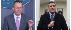 Mulvaney Takes A Shot At Acosta During White House Omnibus Briefing