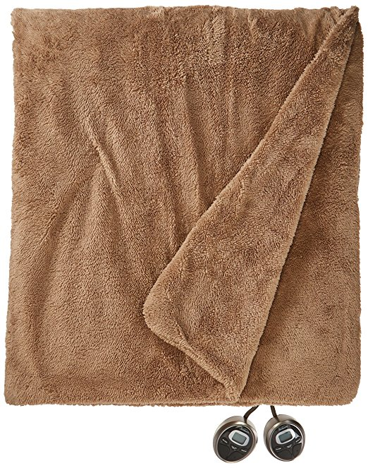 Normally $114, this heated blanket is 45 percent off today (Photo via Amazon)