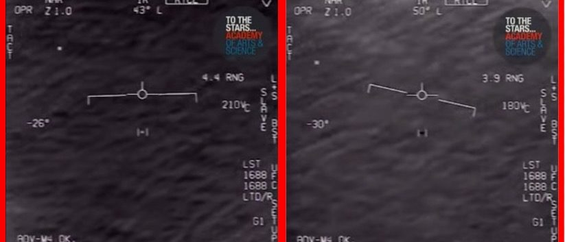 Navy Declassifies 2015 Footage Of Pilots Encountering UFO ...