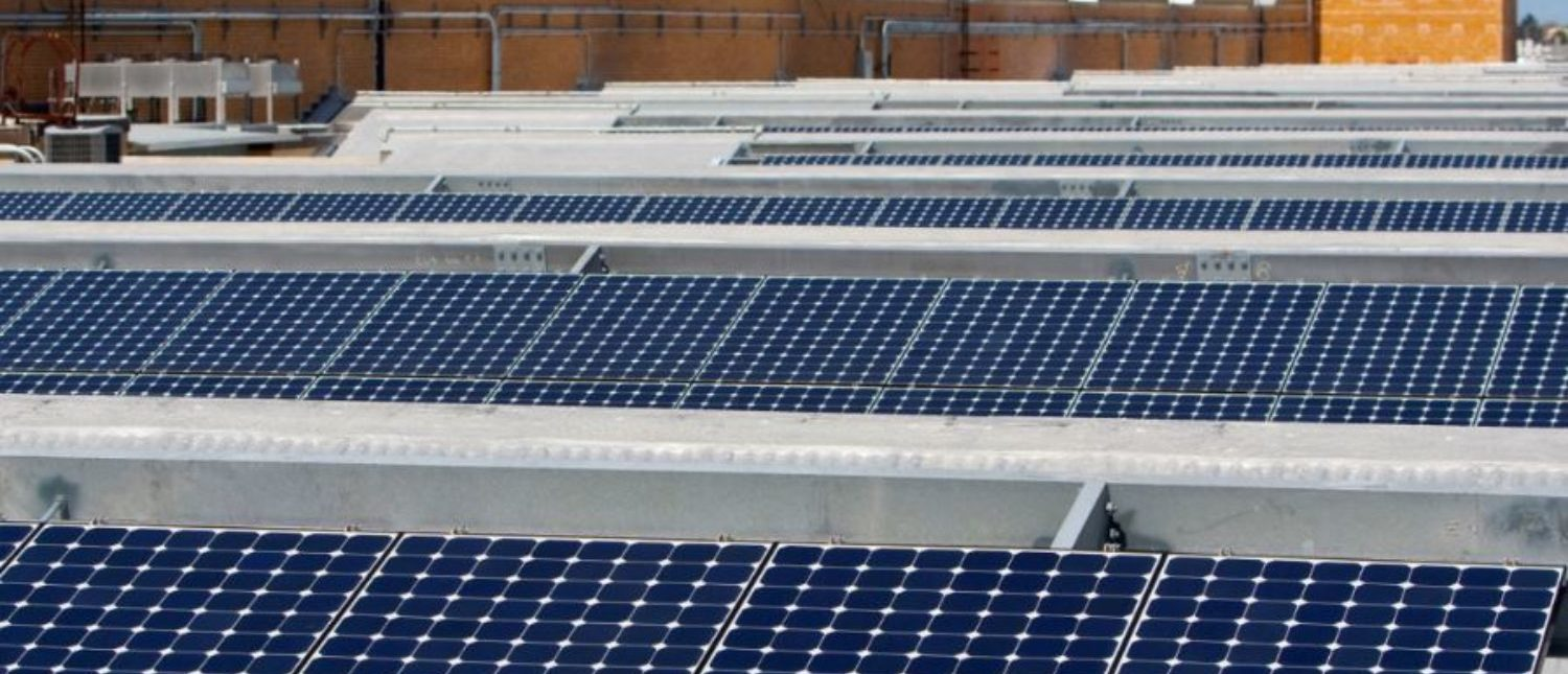 FILE PHOTO: Solar panels sit on the roof of SunPower Corporation in Richmond, California March 18, 2010. REUTERS/Kim White/File Photo