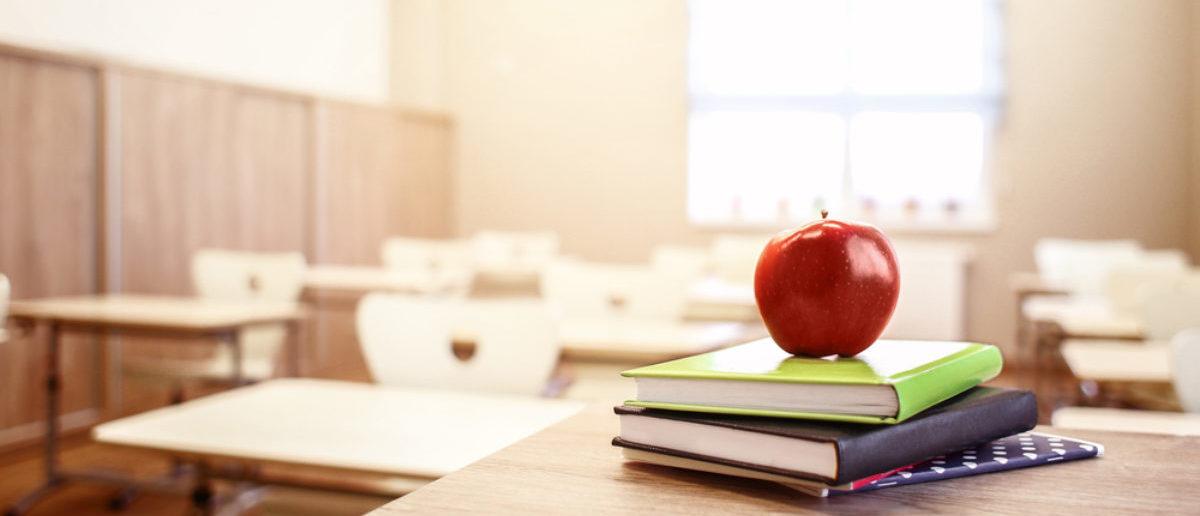 Teacher Classroom/Africa Studio/Shutterstock