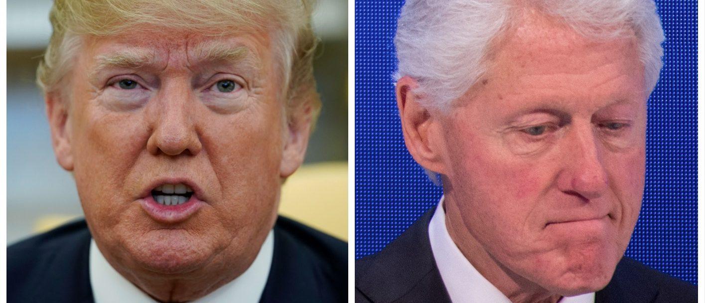 Donald Trump, Bill Clinton (Getty Images)