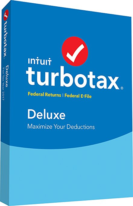 Normally $50, this TurboTax Deluxe is 30 percent off (Photo via Amazon)