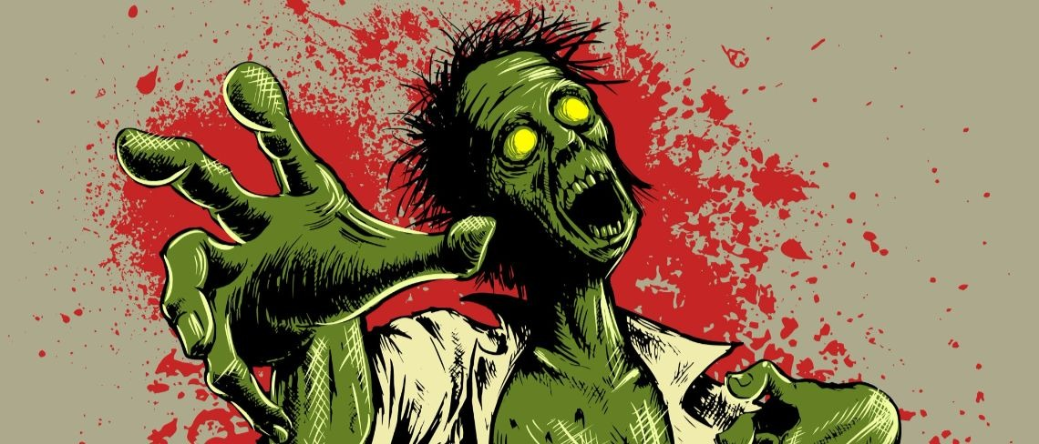 zombie Shutterstock/Georgio Nikaragua