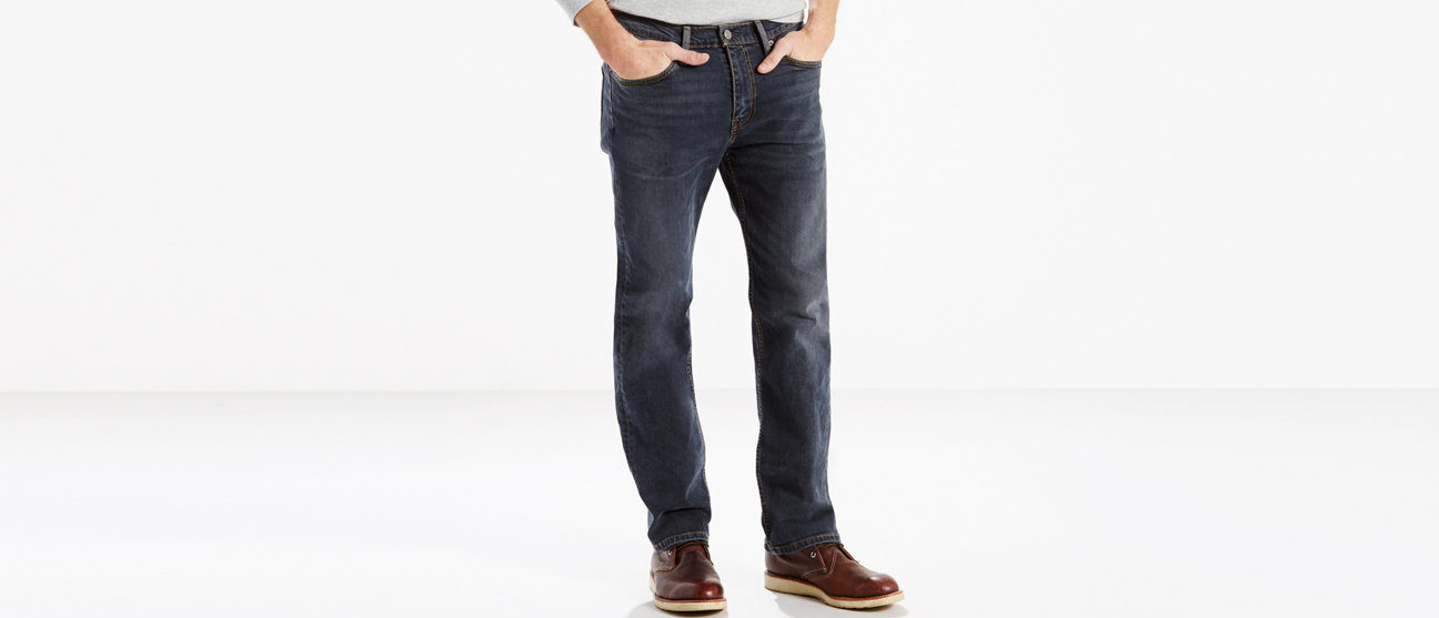 Normally $60, these straight fit jeans are 33 percent off (Photo via Levi's)