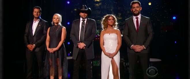 ACM Awards Show Pays Tribute To Those Killed In Vegas Shooting [VIDEO]