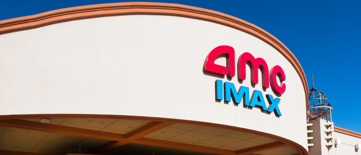 AMC IMAX movie theater owned by AMC Entertainment, Inc. IMAX theaters offer three dimensional movies at theaters around the world -- ShutterStock Ken Wolter