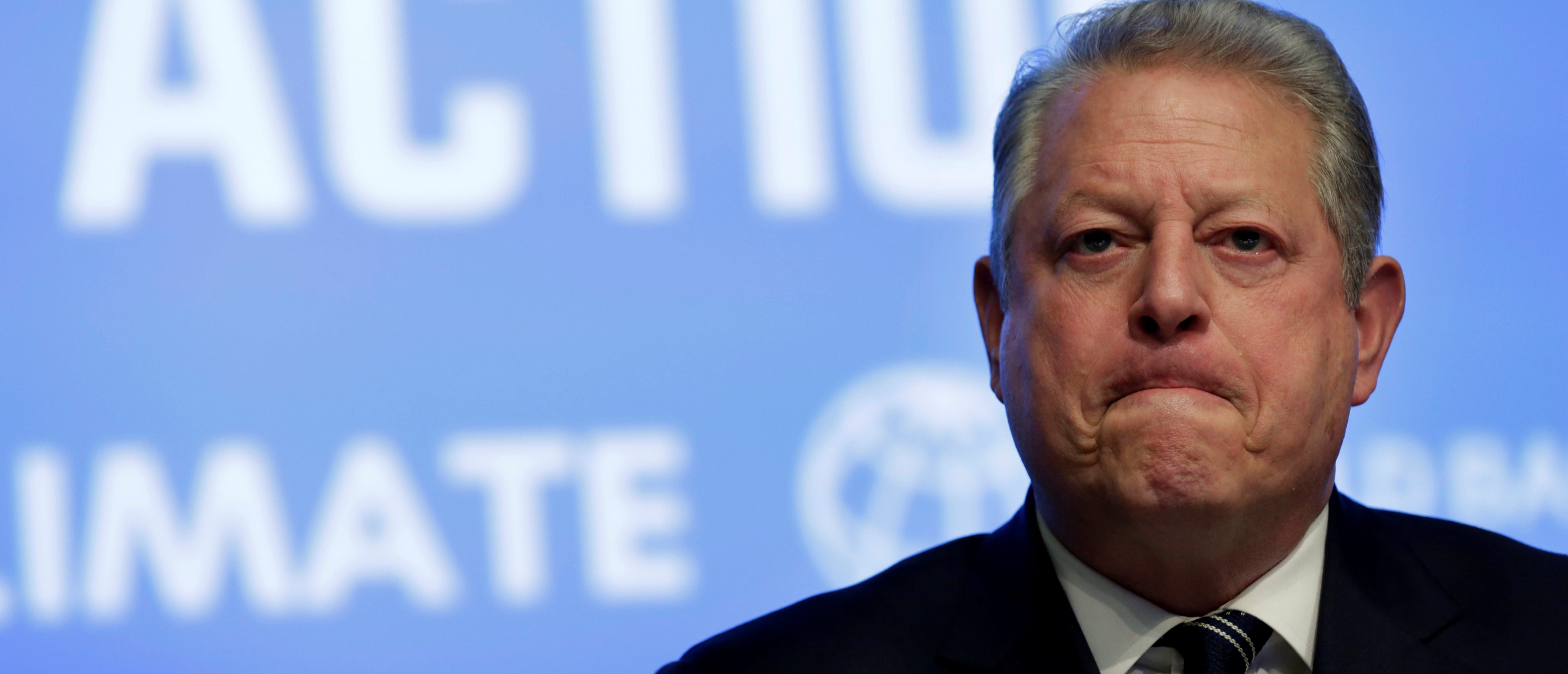 Former U.S. Vice President Al Gore attends Unlocking Financing for Climate Action session during the IMF/World Bank spring meetings in Washington, U.S., April 21, 2017. REUTERS/Yuri Gripas - RC15A2B1DE70