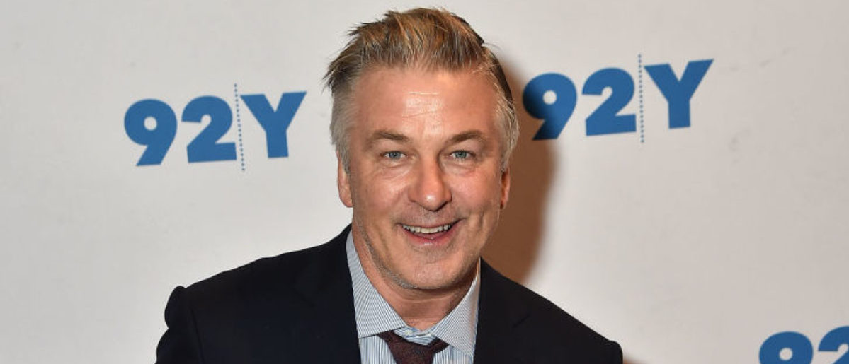 """NEW YORK, NY - NOVEMBER 09: Alec Baldwin (pictured) and Kurt Andersen In Conversation With Brian Lehrer: """"You Can't Spell America Without Me"""" at 92nd Street Y on November 9, 2017 in New York City. (Photo by Theo Wargo/Getty Images)"""