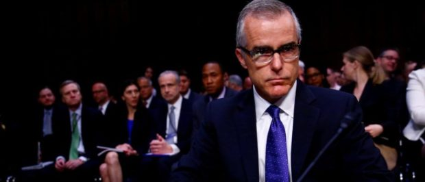Former FBI deputy director Andrew McCabe arrives to testify before the U.S. Senate Select Committee on Intelligence on Capitol Hill in Washington, U.S. May 11, 2017. REUTERS/Eric Thayer/File Photo | Andrew McCabe Hits Back At James Comey