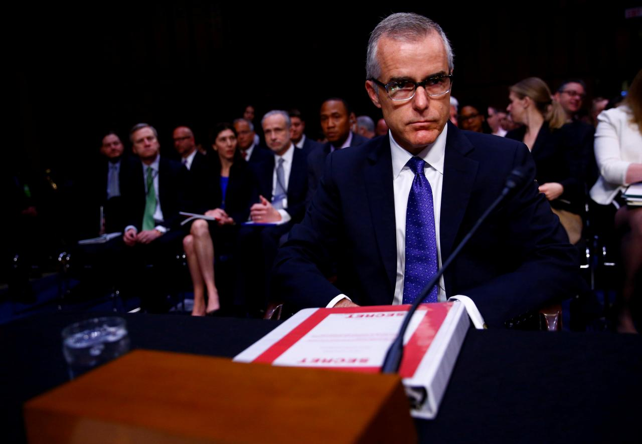 McCabe's Leak Denials Cast Suspicion On His Loyal Aide, Lisa Page