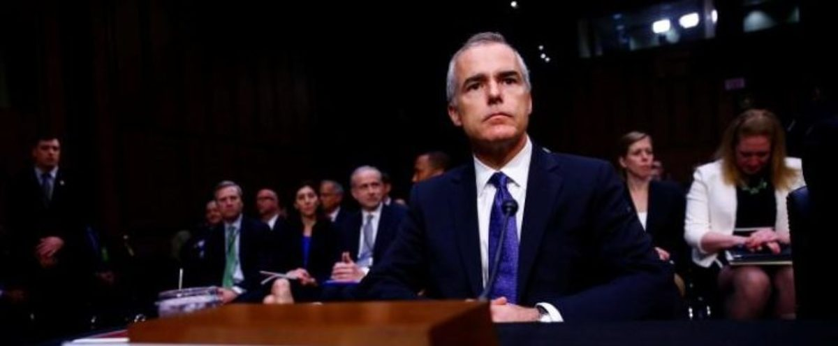 Acting FBI Director Andrew McCabe waits to testify before the U.S. Senate Select Committee on Intelligence on Capitol Hill in Washington, U.S. May 11, 2017. REUTERS/Eric Thayer   Andrew McCabe Ends Crowdfunding Campaign
