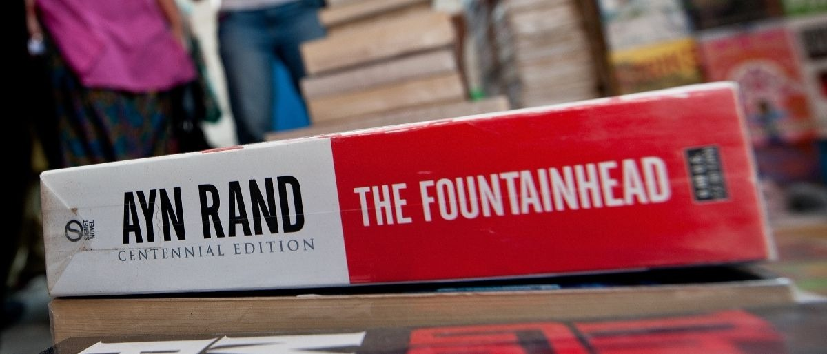 Ayn Rand Fountainhead Getty Images/Manan Vatsyayana