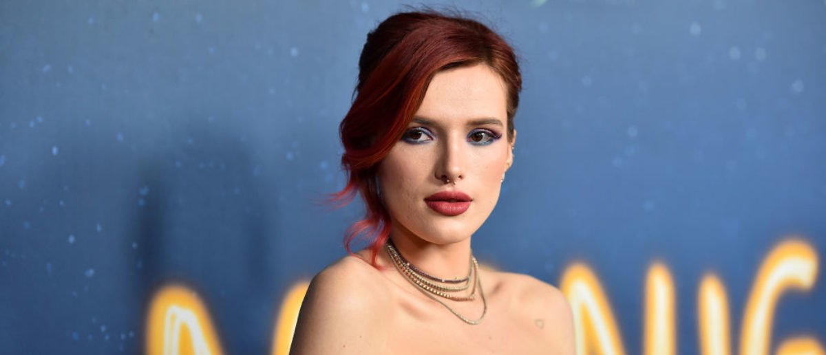 HOLLYWOOD, CA - MARCH 15:  Bella Thorne attends Global Road Entertainment's world premiere of 'Midnight Sun'  at ArcLight Hollywood on March 15, 2018 in Hollywood, California.  (Photo by Alberto E. Rodriguez/Getty Images)